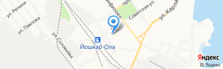 Амрита на карте Йошкар-Олы