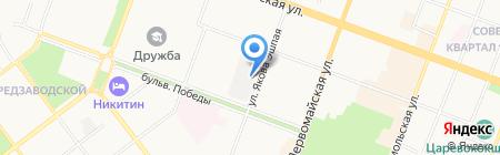 Магазин хлебобулочных и кондитерских изделий на карте Йошкар-Олы