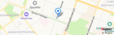 Моя семья на карте Йошкар-Олы