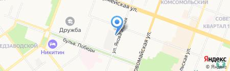 Компания Монтаж Сервис на карте Йошкар-Олы
