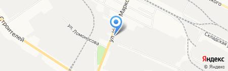 Аргус на карте Йошкар-Олы