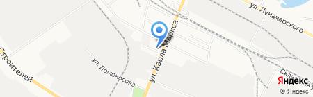 Сигнал на карте Йошкар-Олы