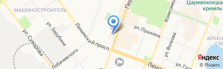 Гриль на карте Йошкар-Олы