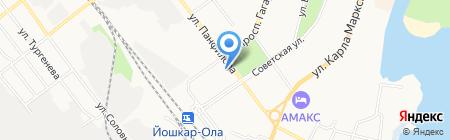 Sport Drive на карте Йошкар-Олы