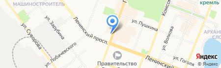 Фиалочка на карте Йошкар-Олы