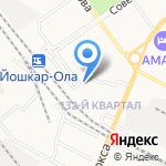 RAFA на карте Йошкар-Олы