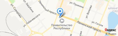 Наместникова А.А. на карте Йошкар-Олы