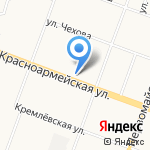 Фифа Чёлкина на карте Йошкар-Олы
