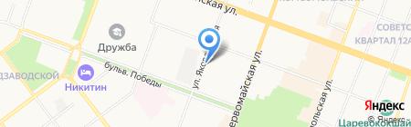 Йошкар-Олинский городской суд Республики Марий Эл на карте Йошкар-Олы