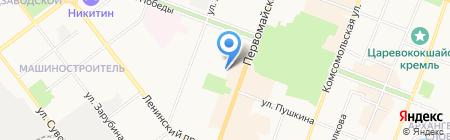 Имидж на карте Йошкар-Олы