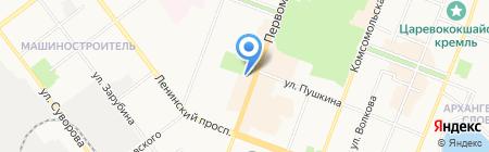 Салон столовой моды на карте Йошкар-Олы