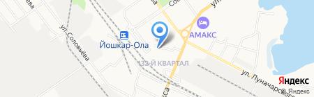 Импульс на карте Йошкар-Олы