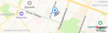 СДЭК на карте Йошкар-Олы