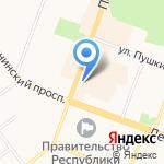 Магазин замков и сантехники на карте Йошкар-Олы