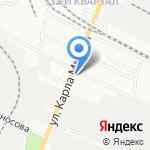 Автомагазин на карте Йошкар-Олы