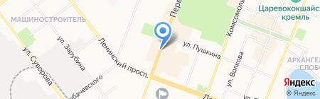 Пресса на карте Йошкар-Олы