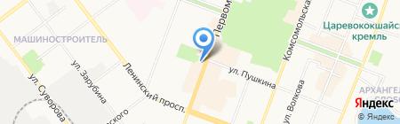 Связной на карте Йошкар-Олы