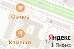 Схема проезда до компании Советник в Йошкар-Оле