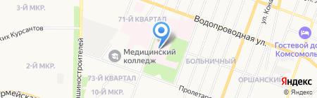 Республиканский кожно-венерологический диспансер на карте Йошкар-Олы