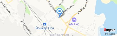 MERCURY на карте Йошкар-Олы