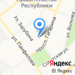 Телефон доверия на карте Йошкар-Олы