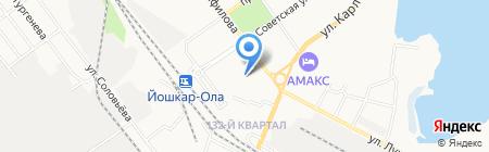 Мегатех на карте Йошкар-Олы