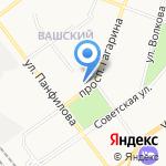 Служба грузоперевозок на карте Йошкар-Олы