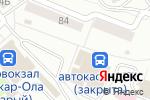 Схема проезда до компании Магазин халяльной продукции в Йошкар-Оле