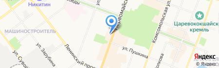 Институт Растительной Косметики на карте Йошкар-Олы