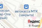 Схема проезда до компании Сладкий мирок в Йошкар-Оле