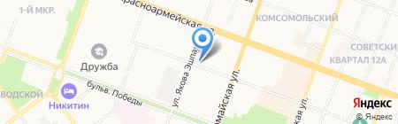 Шерлок Холмс на карте Йошкар-Олы
