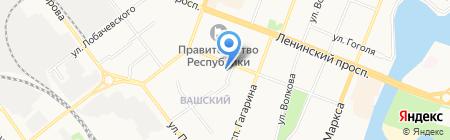Студия красоты Руслана Гаджиева на карте Йошкар-Олы
