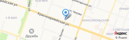 Артём на карте Йошкар-Олы