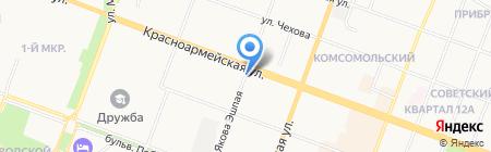БирХаус на карте Йошкар-Олы