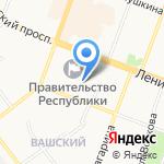 Министерство образования и науки на карте Йошкар-Олы