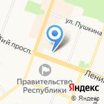 Конституционный суд Республики Марий Эл на карте Йошкар-Олы