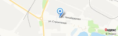 МРЭО ГИБДД МВД по Республике Марий Эл на карте Йошкар-Олы