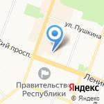 Марийский цемент на карте Йошкар-Олы