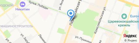 Форт Диалог на карте Йошкар-Олы