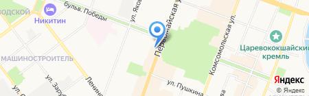 Посольство красоты на карте Йошкар-Олы