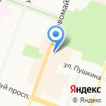 Детская школа искусств им. П.И. Чайковского на карте Йошкар-Олы