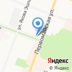 Техпром на карте Йошкар-Олы