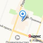 Первомайская Ярмарка на карте Йошкар-Олы