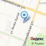 Адвокатский кабинет Рыбаковой М.А. на карте Йошкар-Олы