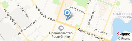 Банкомат АКБ Вятка-банк на карте Йошкар-Олы