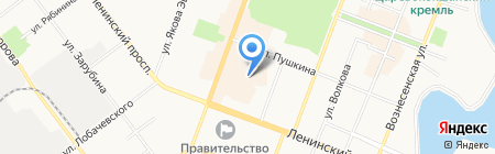 Зиг Заг на карте Йошкар-Олы