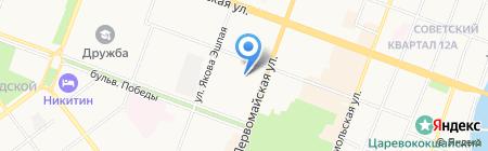 Детский сад №27 на карте Йошкар-Олы