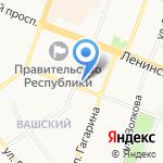 Юрбизнесцентр на карте Йошкар-Олы