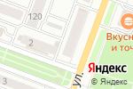 Схема проезда до компании Галерея потолков в Йошкар-Оле