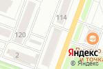 Схема проезда до компании Раковая №1 в Йошкар-Оле